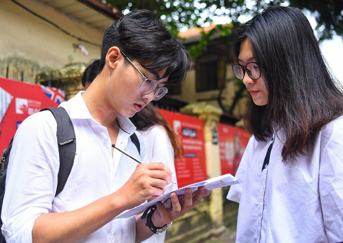 Thí sinh dự thi THPT quốc gia 2019. Ảnh: Giang Huy