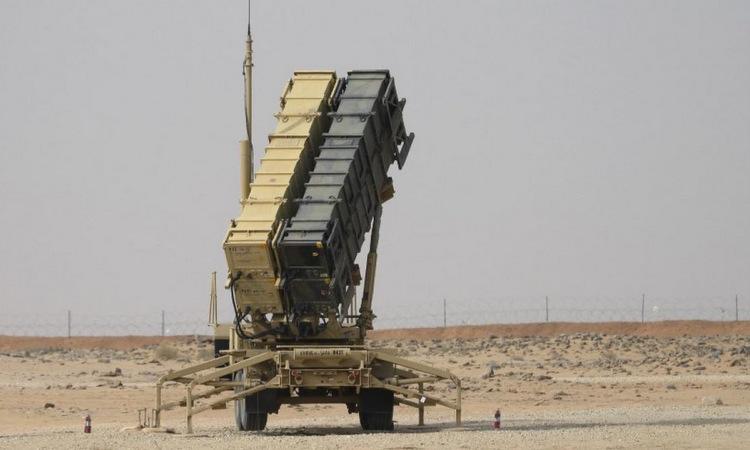 Bệ phóng tên lửa Patriot Mỹ tại Arab Saudi hồi tháng 2. Ảnh: AFP.