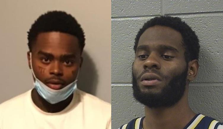 Ngoại hình của Jahquez Scott (trái) và Quintin Henderson có phần tương tự. Ảnh: Cook County Sheriff's Office.