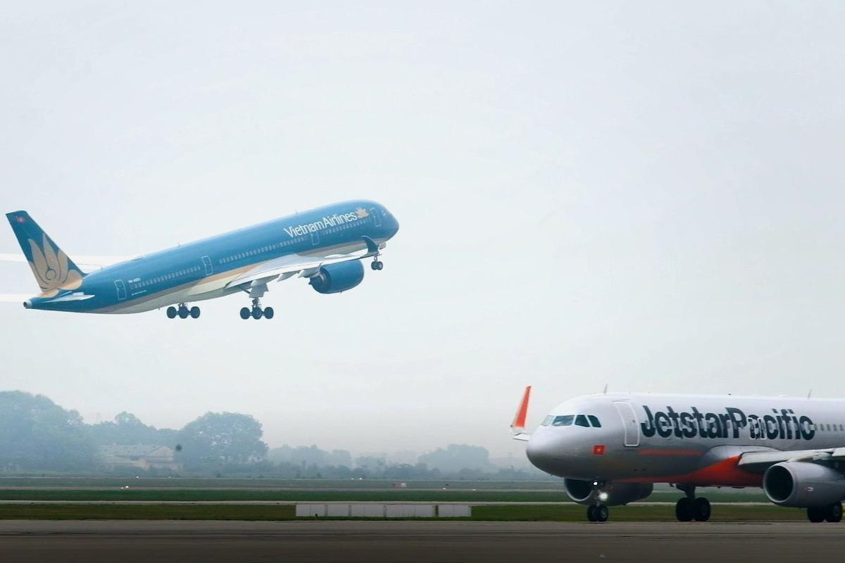 Các hãng đang tăng chuyến bay sau khi giãn cách xã hội. Ảnh: VNA.