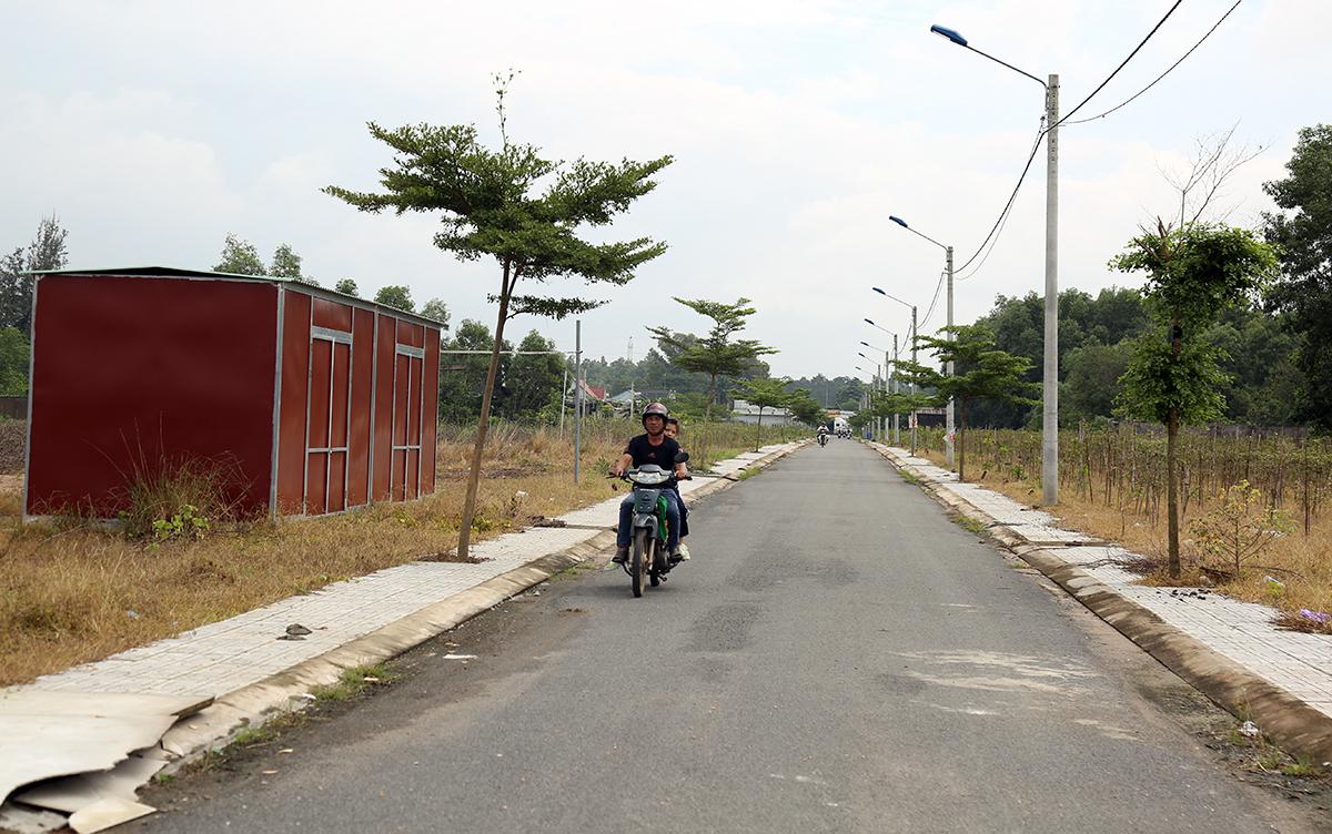 Một dự án nằm tại xã Long Phước của Công ty địa ốc Alibaba. Ảnh: Phước Tuấn