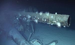 Tìm thấy xác tàu chiến 'không thể chìm' sau 72 năm