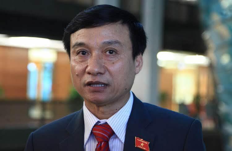 Ông Bùi Văn Xuyền, đại biểu Quốc hội tỉnh Thái Bình, Uỷ viên thường trực Uỷ ban Pháp luật. Ảnh: Ngọc Thắng