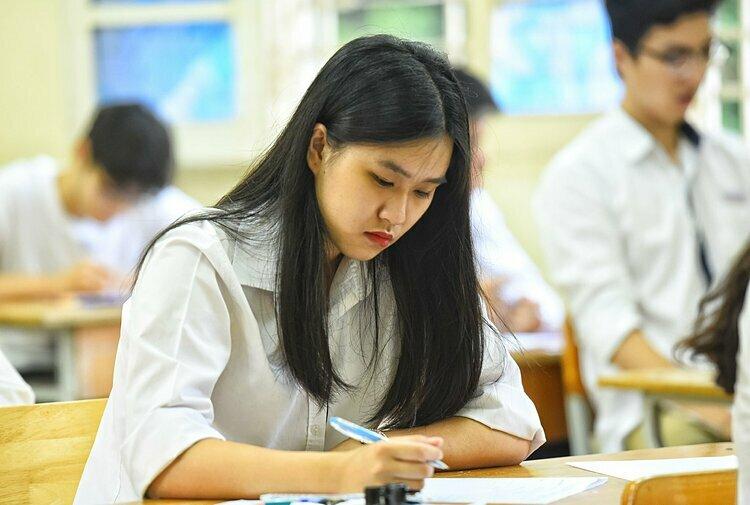 Thí sinh tham dự kỳ thi THPT quốc gia 2019. Ảnh: Giang Huy