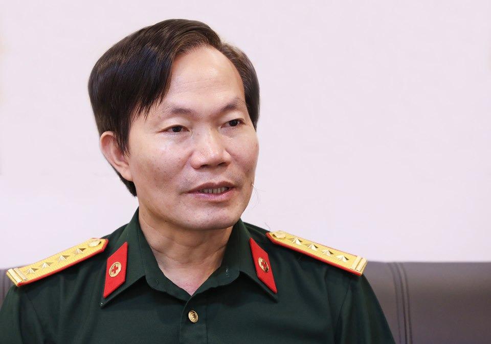 Đại tá Hà Thế Tấn, Viện phó Y học dự phòng quân đội. Ảnh:Ngọc Thành