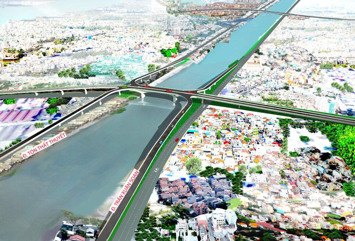 Thiết kế cầu Nguyễn Khoái.