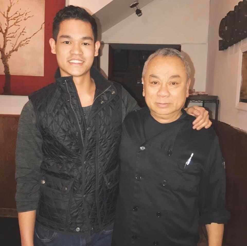 Bi Nguyen (trái) và ông Tuan Nguyen. Ảnh:Block Club Chicago