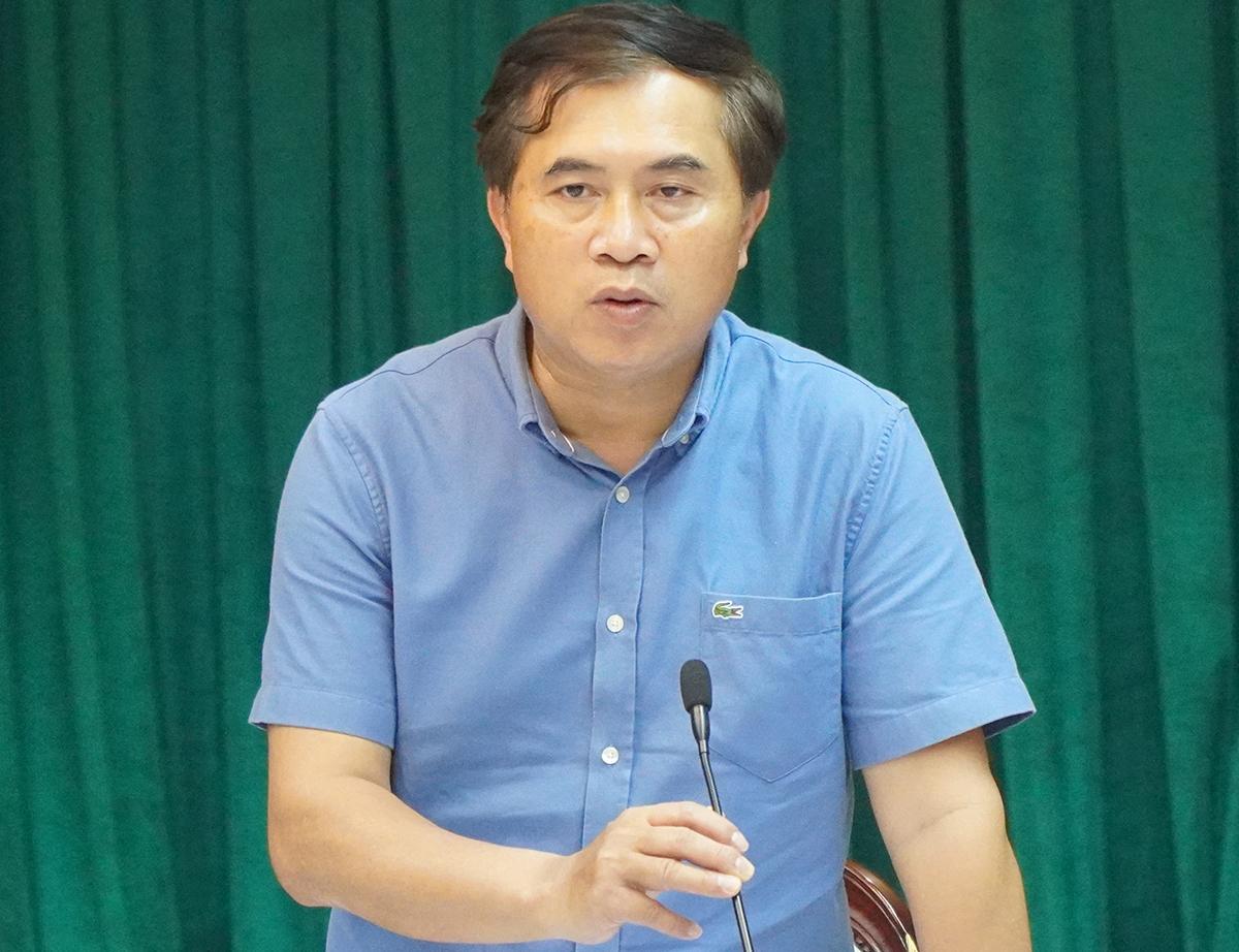 Thứ trưởng Hùng tại buổi họp với UBND tỉnh Đồng Nai. Ảnh: Phước Tuấn