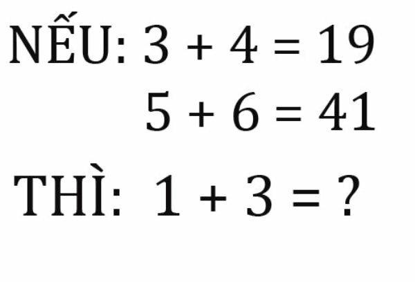 Bài toán gây tranh cãi vì có hai đáp án đều hợp lý