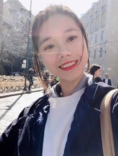 Nguyễn Ngọc Linh khi học tập tại Italy. Ảnh: Nhân vật cung cấp