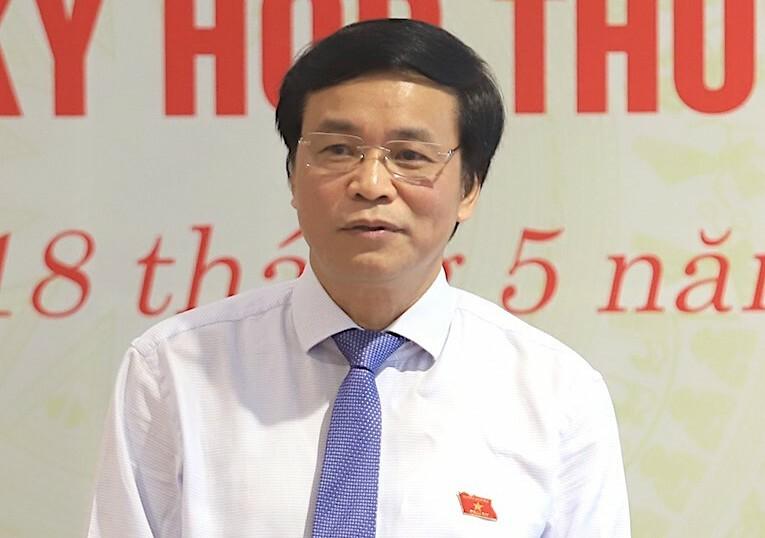 Tổng thư ký Quốc hội Nguyễn Hạnh Phúc. Ảnh: Anh Minh