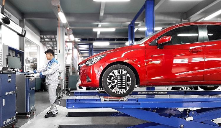 Ngoài chương trình miễn phí bảo dưỡng, Mazda còn áp dụng ưu đãi giảm giá và tặng kèm gói phụ kiện lên đến 85 triệu đồng.