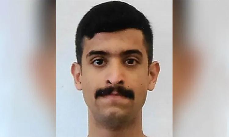 Học viên phi công Arab Saudi Mohammed Alshamrani, thủ phạm vụ nổ súng tại căn cứ hải quân Pensacola, Florida hồi tháng 12/2019. Ảnh: NYPost.