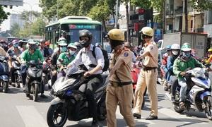 Cần tổng kiểm soát phương tiện giao thông trước khi xử phạt vi phạm