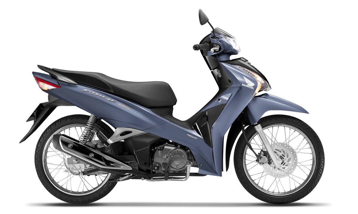 Honda Future 125 FI phiên bản vành nan hoa màu xanh-đen, giá 30,19 triệu đồng. Ảnh: Honda