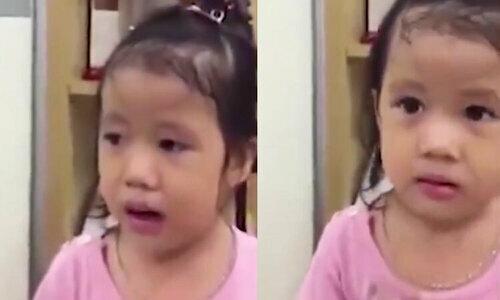 Con gái rượu hôn bố khi nghe tâm sự chuyện lấy chồng - 1