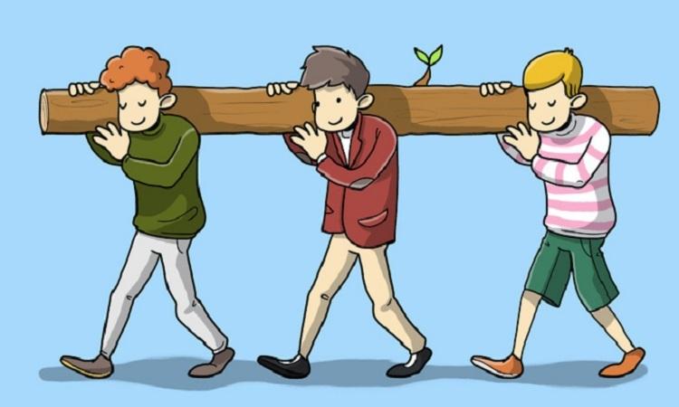 Người nào mang nặng nhất?