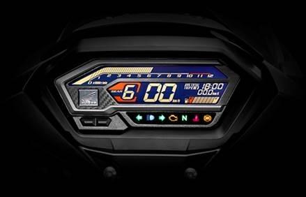 Bảng đồng hồ trên Honda Winner X.