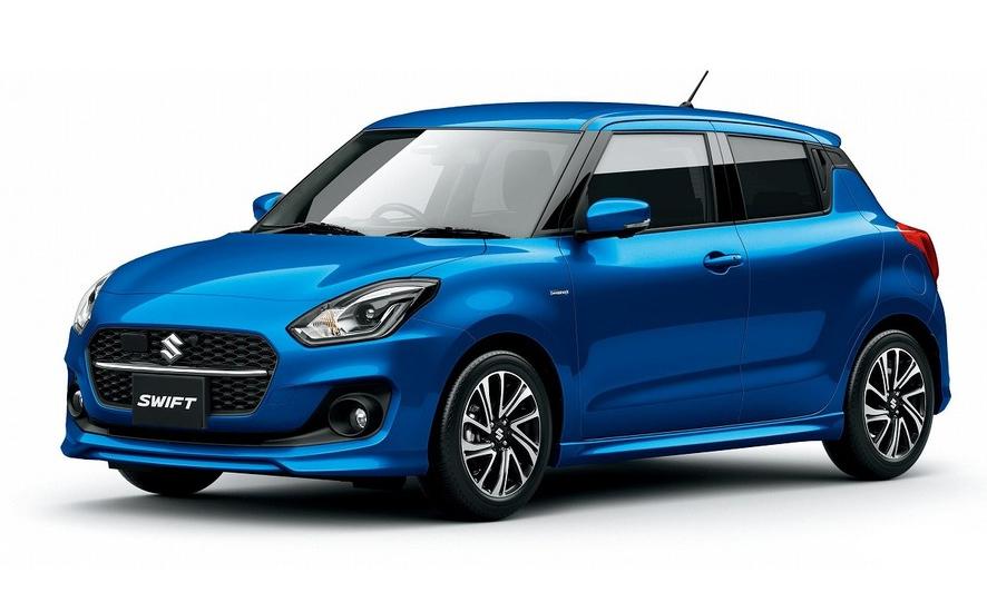 Suzuki Swift thay đổi nhẹ về thiết kế, giữ nguyên cách bố trí trong cabin, động cơ và công nghệ. Ảnh: Suzuki