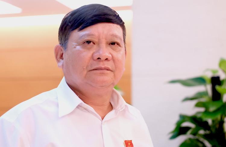 Thiếu tướng Đặng Ngọc Nghĩa, Uỷ viên thường trực Uỷ ban Quốc phòng An ninh của Quốc hội. Ảnh: Hoàng Thuỳ