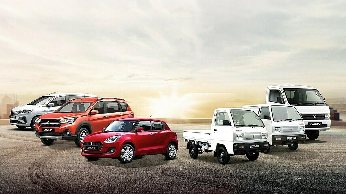 Các dòng xe đa dạng của Suzuki tại thị trường Việt Nam.