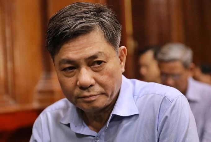 Cựu Giám đốc Sở Tài nguyên - Môi trường Đào Anh Kiệt kháng cáo xin giảm nhẹ hình phạt. Ảnh: Hữu Khoa.