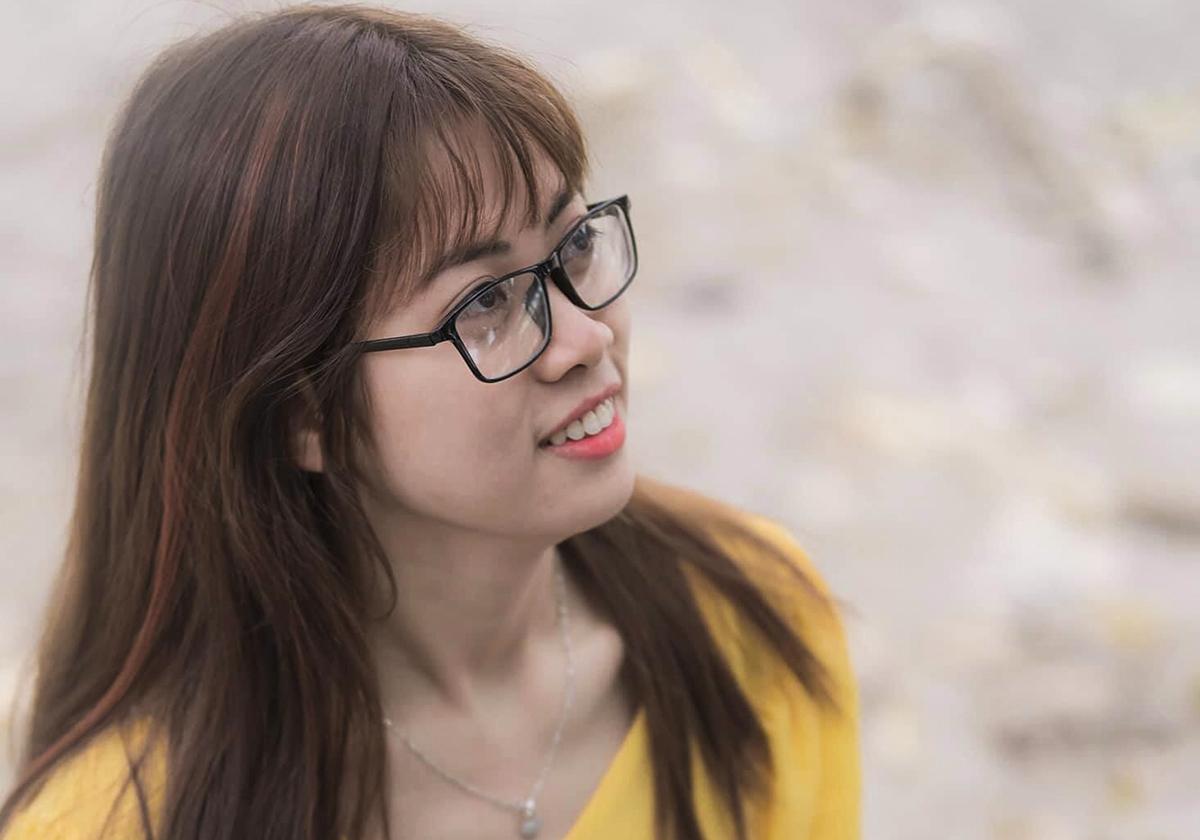 Lê thị Thu Hiền tốt nghiệp Đại học Bách khoa Hà Nội với điểm tổng kết 3.81/4. Ảnh: Nhân vật cung cấp.