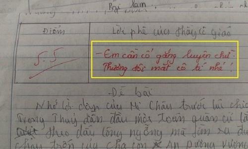 Nam sinh bị bật lại vì dùng tiếng Anh trong bài kiểm tra Văn - 3