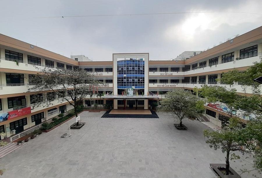 Khuôn viên trường THCS & THPT Nguyễn Tất Thành nằm trong Đại học Sư phạm Hà Nội. Ảnh: Trường THCS & THPT Nguyễn Tất Thành - Hà Nội.