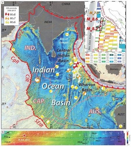 Bồn địa Wharton là nơi xảy ra hai trận động đất năm 2012. Ảnh: Live Science.