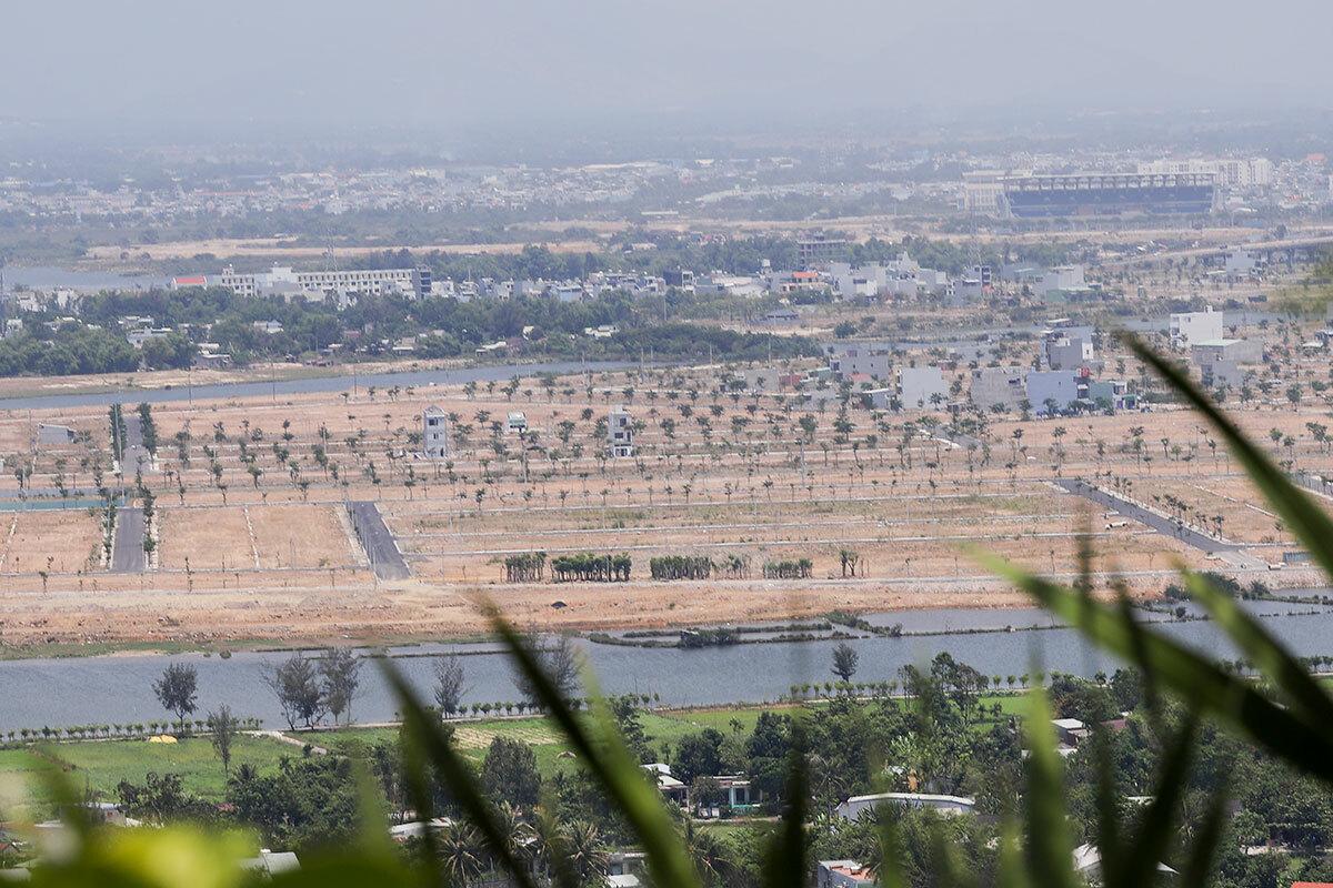 Đà Nẵng đang hình thành nhiều khu đô thị mới về phía nam Ảnh: Nguyễn Đông.