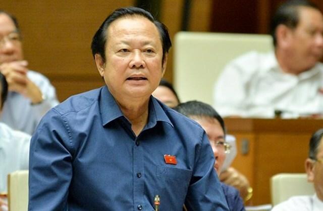 Đại biểu Nguyễn Việt Thắng (Bến Tre). Ảnh: Trung tâm báo chí Quốc hội