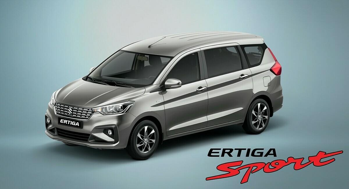 Thiết kế Ertiga Sport nhấn mạnh vẻ thể thao.