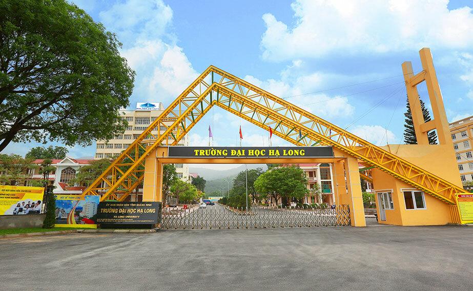 Trường Đại học Hạ Long, cơ sở 1 ở số 258, phường Nam Khê, TP Uông Bí, Tỉnh Quảng Ninh. Ảnh: Trường Đại học Hạ Long.