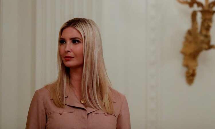 Ivanka Trump tại Nhà Trắng, thủ đô Washington, Mỹ, hôm 28/4. Ảnh: Reuters.