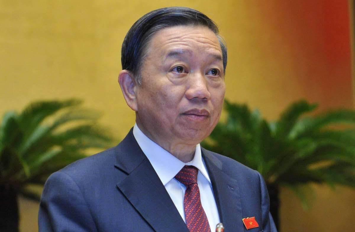 Đai tướng Tô Lâm, Bộ trưởng Công an. Ảnh: Hoàng Phong