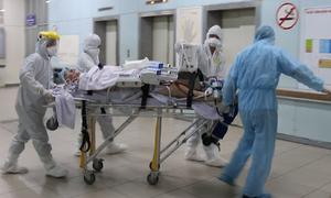 Bệnh nhân phi công được chuyển đến bệnh viện Chợ Rẫy