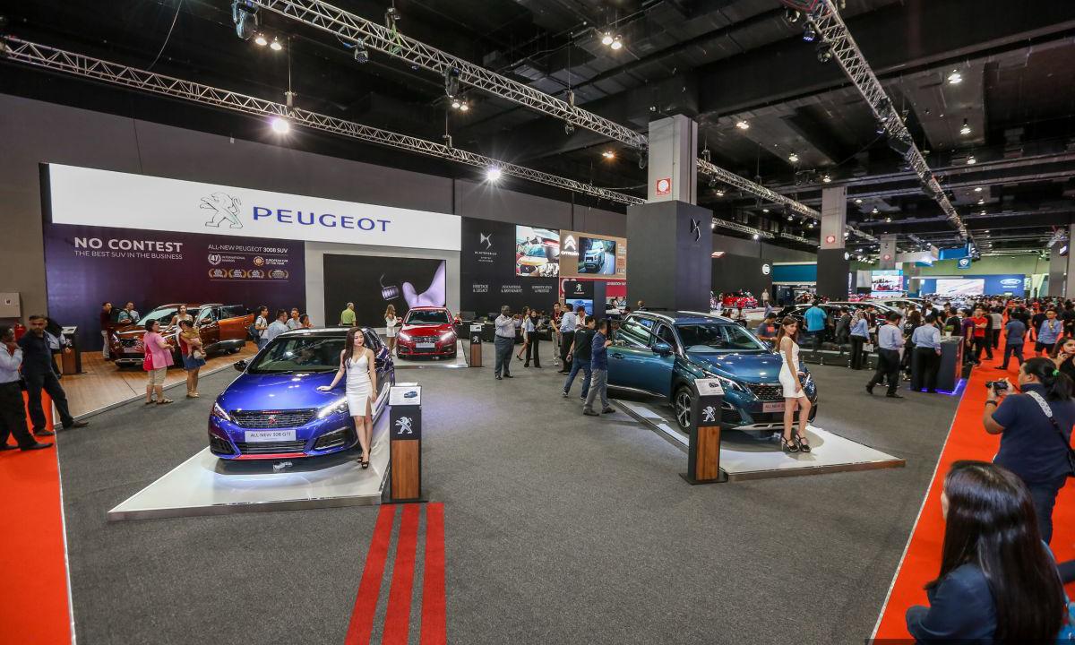 Xe hơi mới trưng bày tại một triển lãm ở Malaysia. Ảnh: Paultan