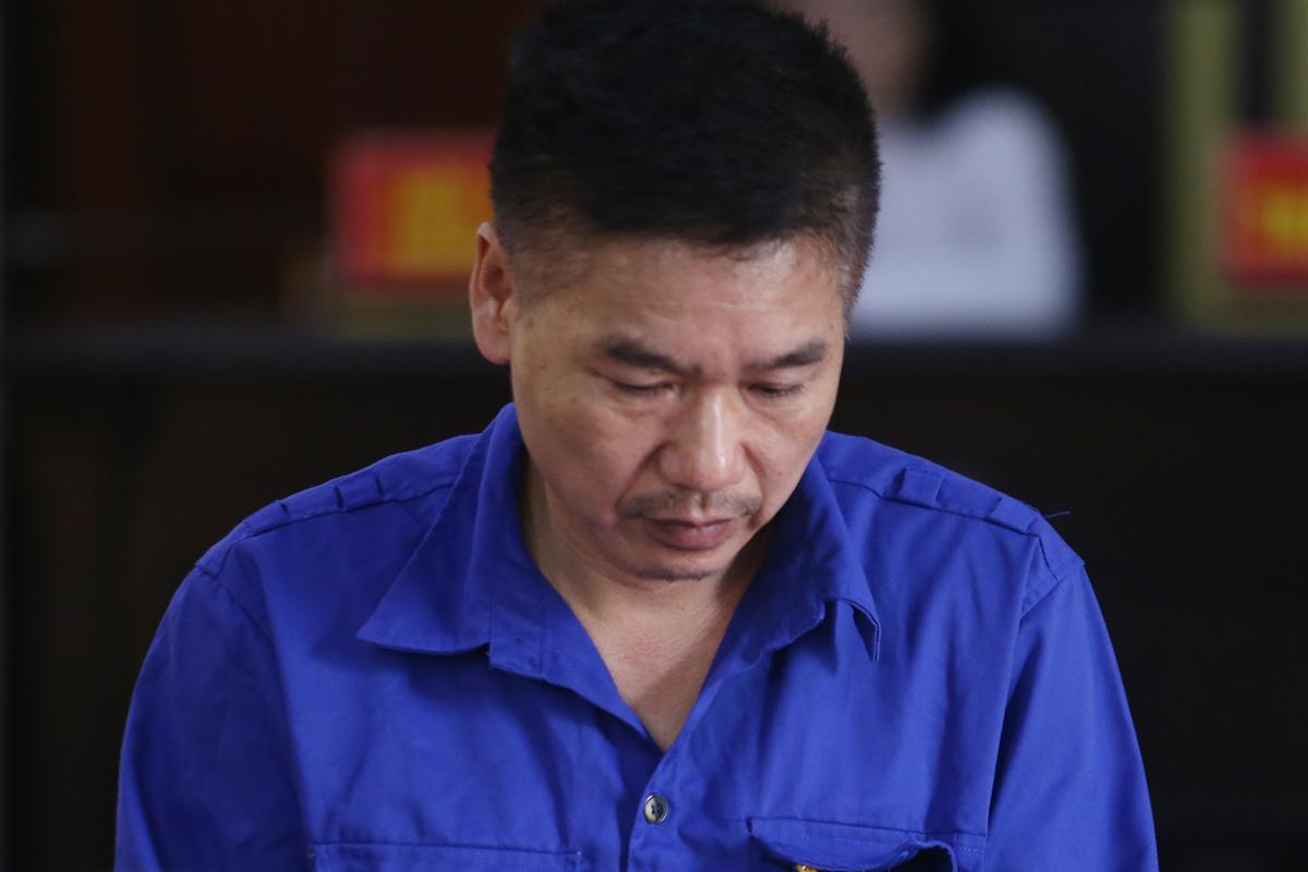 Cựu phó giám đốc sở Trần Xuân Yến. Ảnh: Phạm Dự.