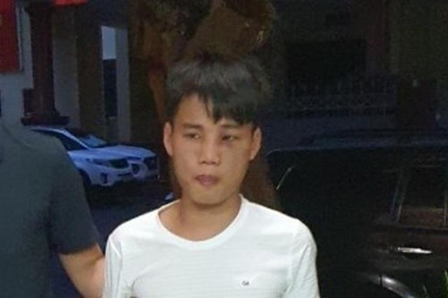 Bùi Văn Tuấn bị bắt sau hai ngày bỏ trốn.