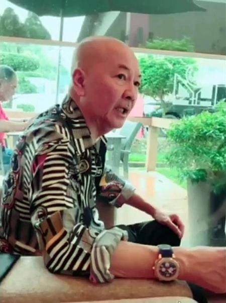 Ông trùm ma túy Tan Tong Meng. Ảnh: Facebook/Jeffrey Tyk Scorpion Tan.