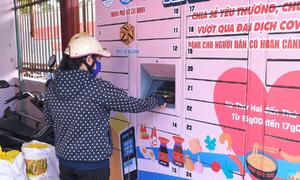 'ATM thực phẩm' miễn phí ở Sài Gòn