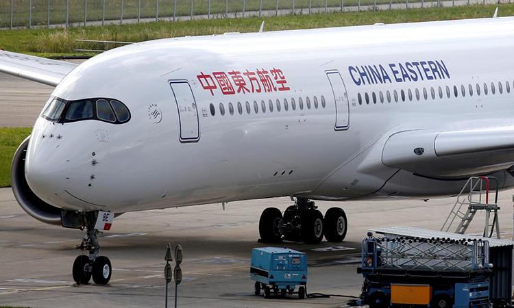 Một máy bay của China Eastern Airlines tại sân bay ởBlagnac gần Toulouse, Pháp, tháng 5/2019. Ảnh: Reuters.