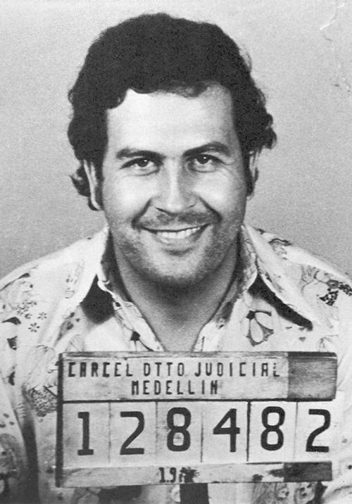 Pablo Escobar. Ảnh: Wikimediacommon.