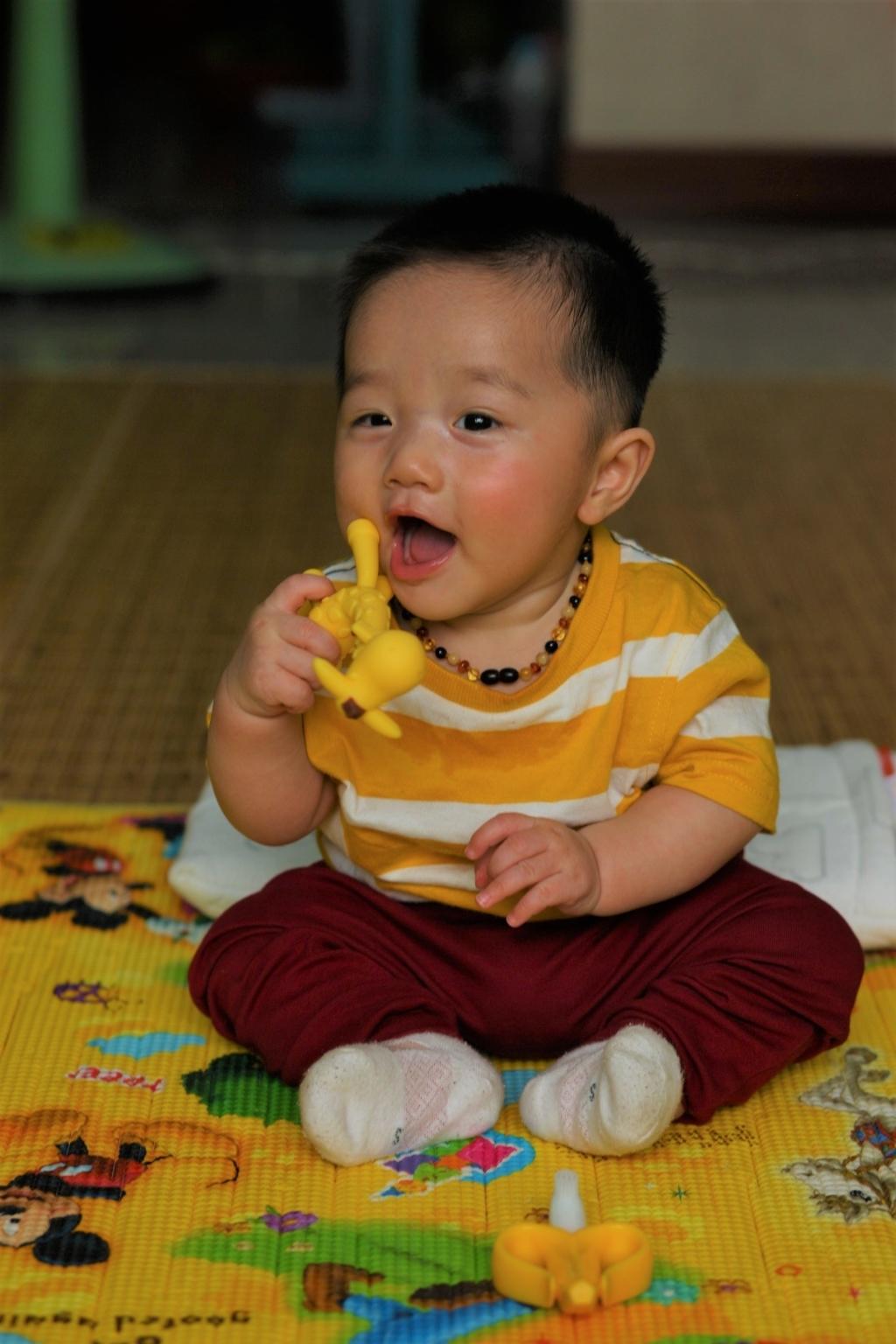 Henry 6 tháng tuổi ăn dặm - 7