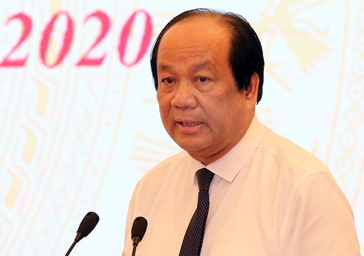 Bộ trưởng, Chủ nhiệm Văn phòng Chính phủ Mai Tiến Dũng. Ảnh: Đình Trung