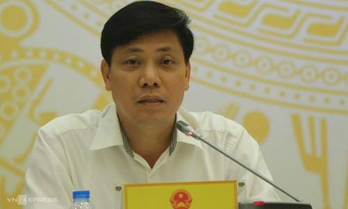 Thứ trưởng Giao thông Vận tải Nguyễn Ngọc Đông. Ảnh: Võ Hải