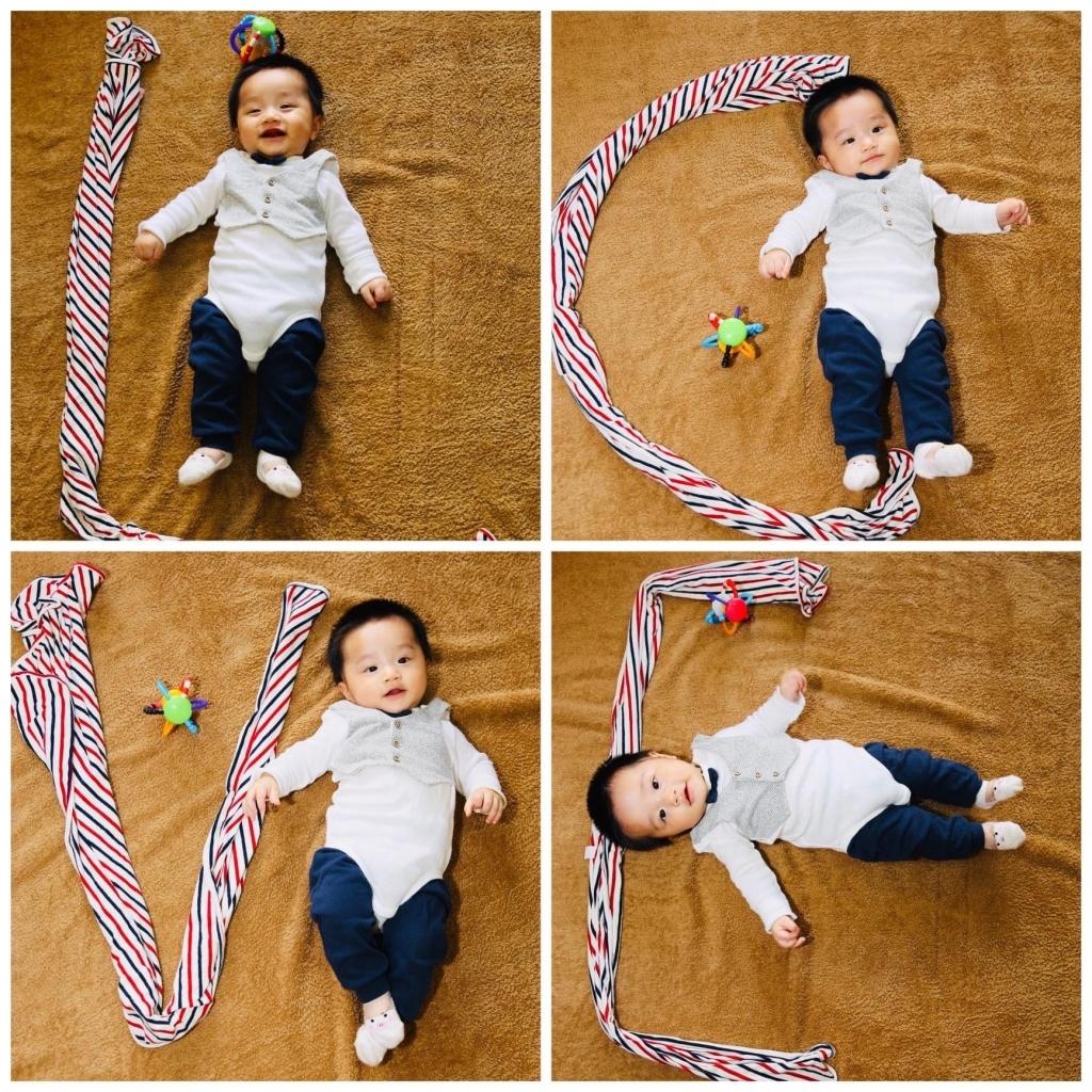 Henry 6 tháng tuổi ăn dặm - 9