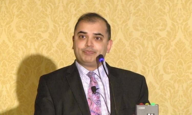Sapan Desai, giám đốc điều hành củaSurgisphere. Ảnh:Gore Medical.