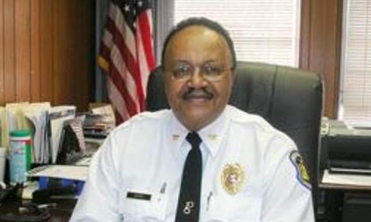 David Dorn khi còn giữ chức cảnh sát trưởng Moline Acres, thành phố St. Louis, bang Missouri, Mỹ, năm 2008. Ảnh:St. Louis Post-Dispatch.